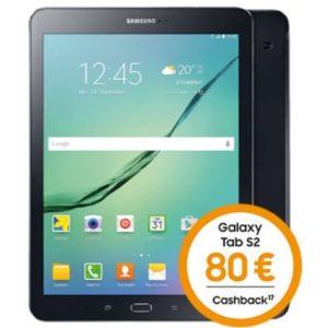 [Knaller] Samsung Galaxy Tab S2 + 80€ Cashback + Allnet-Flat mit 1GB für nur 9,99€ mtl.