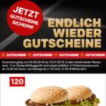 Mc Donalds Gutscheine - z.B. 22 Chicken Nuggets für 4,99€