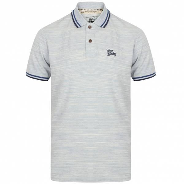 tokyo laundry newburg polo shirt 1x10739 blue fog 013346 2213045