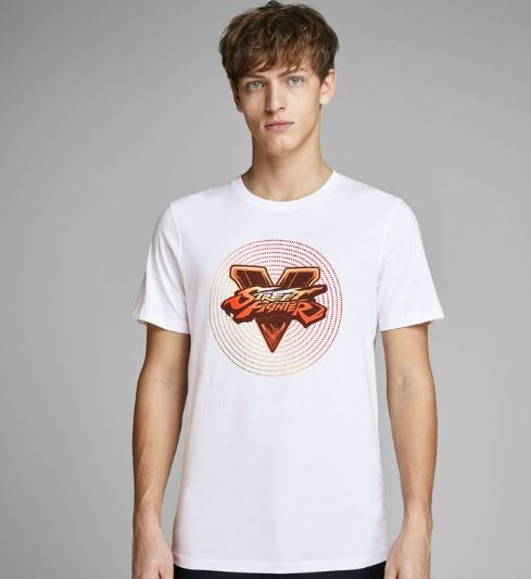 2019 07 19 16 57 39 Street fighter print t shirt   JACK JONES