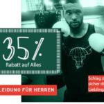 Tipp: 35% Rabatt auf Alles, z.B. Adidas & Nike Sneaker