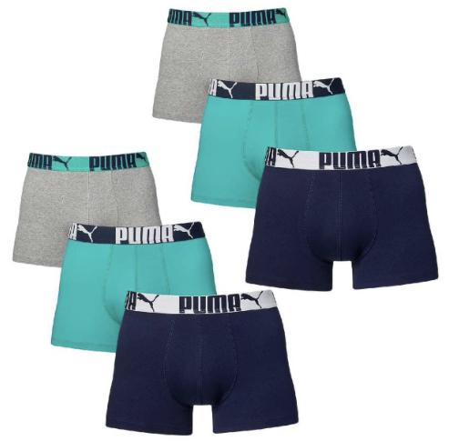 6 er Pack Puma Boxer Bo58xershorts Men Pant Unterwasche Catbrand PROMO Herren Bekleidung Unterwasche L