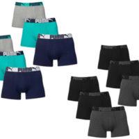 6 er Pack Puma Boxer Boxershorts Men Pant Unterwasche Catbrand PROMO Herren Bekleidung Unterwasche L 1