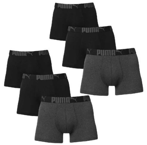 6 er Pack Puma Boxer Boxershorts fdgfdfdgfdgfgdfdgfgd Pant Unterwasche Catbrand PROMO Herren Bekleidung Unterwasche L