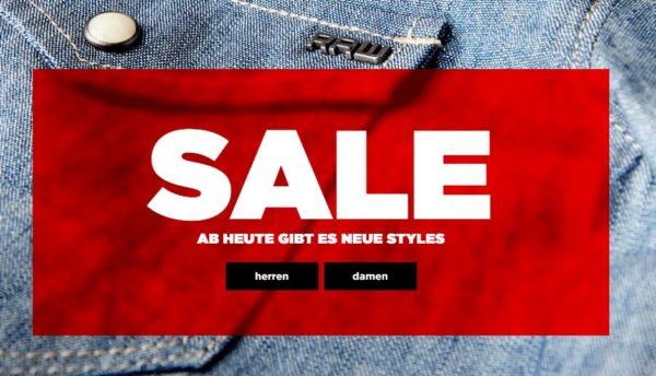 G Star Sale mit bis 50 Prozent