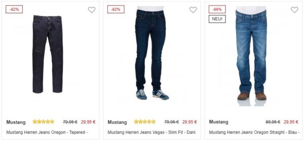 Mustang Sale bei Jeans Direct