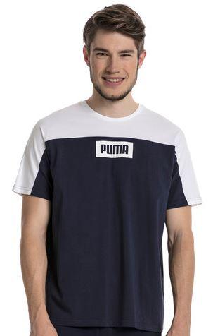 Puma Rebel Herren Block T Shirt