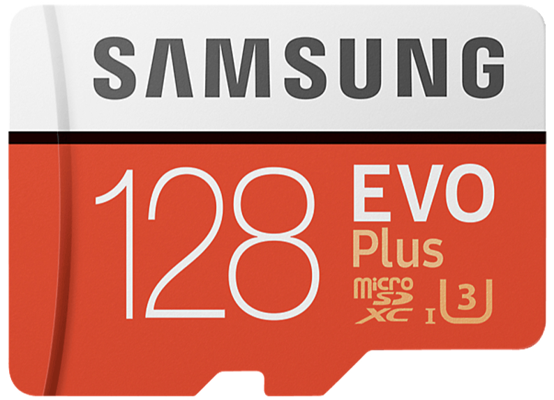 Samsung Evo Plus MicroSDXC mit 64GB, 128GB, 256GB oder 512GB