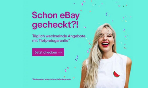 Tiefpreisgarantie auf eBay WOW Angebote