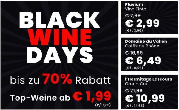 Weinvorteil Black Wine Days 1