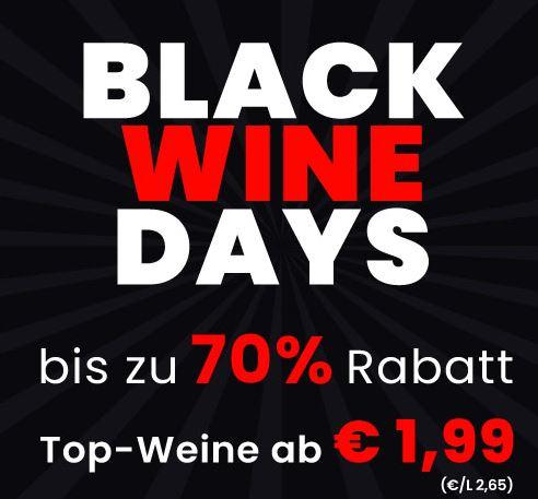 Weinvorteil Black Wine Days