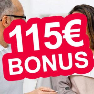 ERGO Direkt: Zahnzusatz-Versicherung mit bis zu 115€ Bonus (Gewinn möglich)