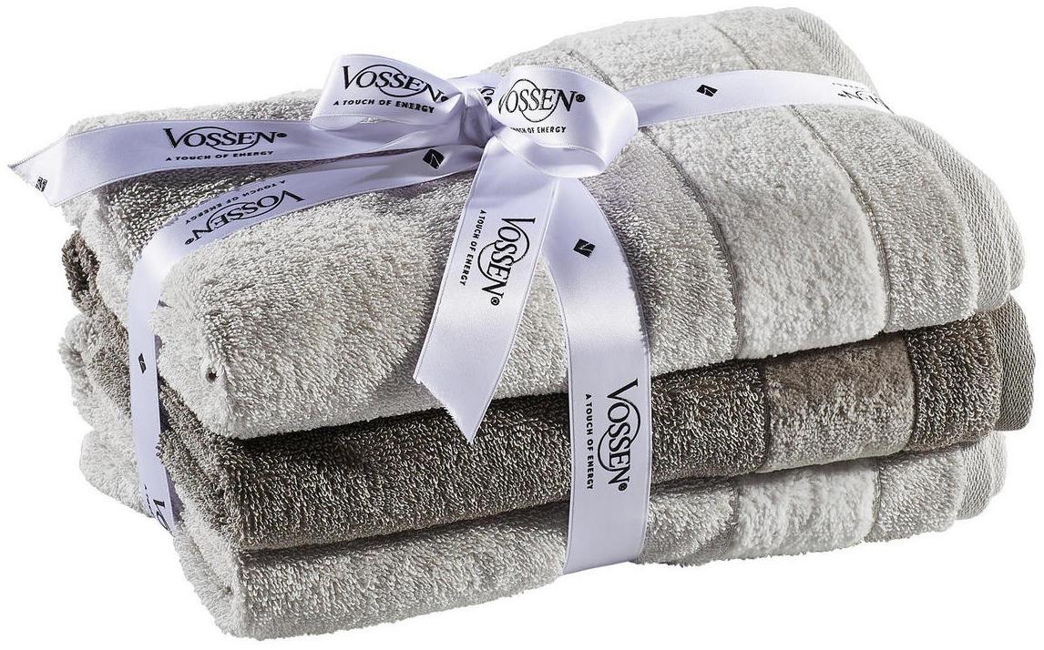 frottierset grau basics textil vossen