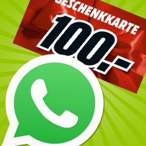 Gewinnt einen 100€ MediaMarkt Gutschein (via Messenger-Anmeldung)