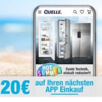 2018 08 10 16 40 01 QUELLE.de Gutschein per App