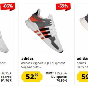 Sportspar: Adidas EQT Support ADV Sneaker ab 48? MyTopDeals