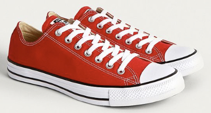 Converse  Low Tops Chuck Taylor All Star in Ochsenblutrot Urban Outfitters