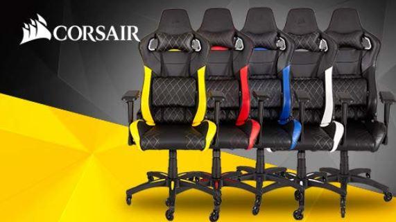 Corsair T1 Race v2 Schreibtisch und Gaming Stuhl