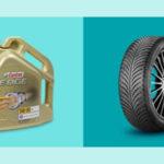 10% Gutschein auf Auto-Equipment, z.B. Castrol Edge Motoröl, Reifen usw.