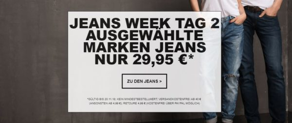 Jeans Direct Jeans fuer 29 95 Euro