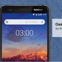 Nokia 3 16GB schwarz Android 7.0 Smartphone