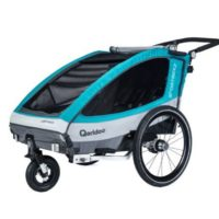 Qeridoo Kinderfahrradanhaenger Sportrex2