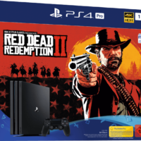 SONY PlayStation 4 Pro 1TB Red Dead Redemption 2