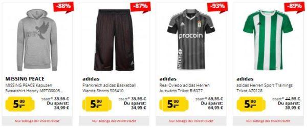 SportSpar Artikel unter 5 Euro 1