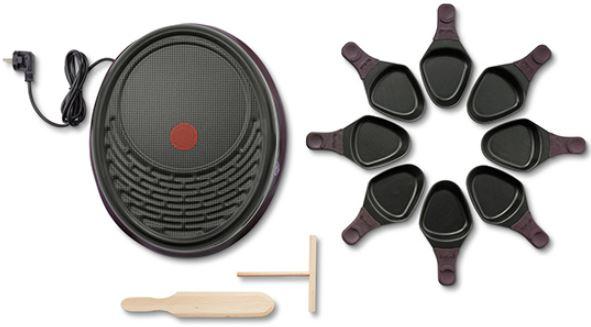 TEFAL Raclette mit Grillplatte 8 Personen