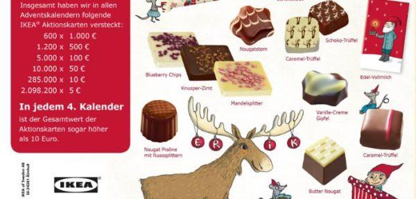 Ikea Adventskalender Für 1295 Inklusive Mind 10 Gutschein