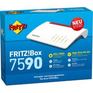 [TOP] FRITZ!Box 7590 mit bis zu 148€ eff. 'Gewinn' dank o2 DSL ohne Laufzeit