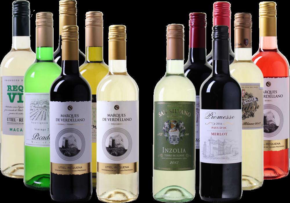 Exklusives Weinpaket mit fantastischen Weinen