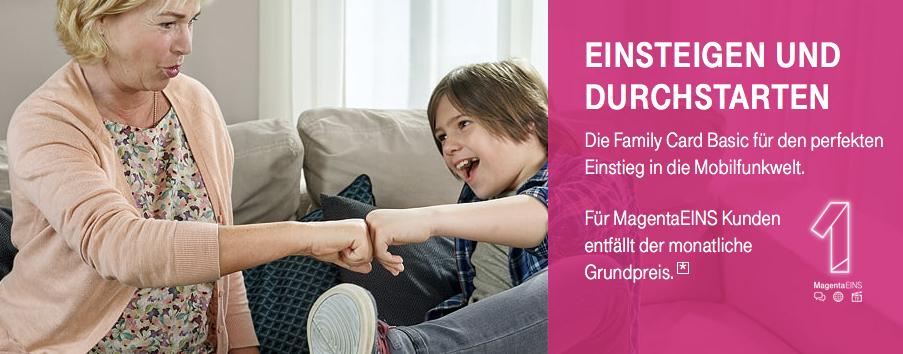 Family Card Basic Tarife Telekom