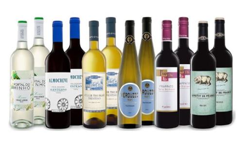 Lidl gemischtes Weinpaket 12 Weine fuer 30 Euro 1