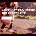 Planet Sports: Großes Outlet + 20% Extra-Gutschein, z.B. Naketano Hoodie für 29€