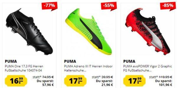 Puma Fussballschuhe bei Sportspar
