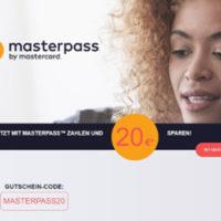 Rakuten 20 Euro Masterpass Rabatt 1
