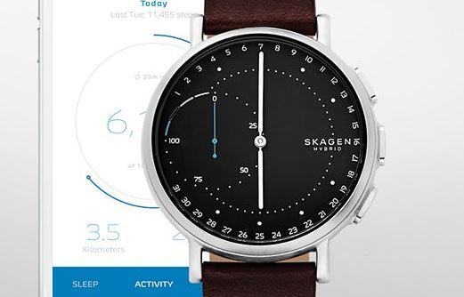 Skagen Signatur Connected Hybrid Smartwatch Leder SKU SKT1111 1
