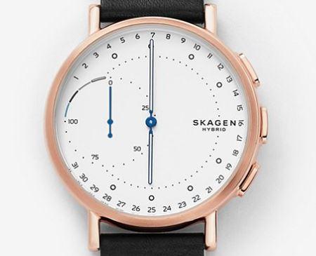 Skagen Signatur Connected Hybrid Smartwatch Leder SKU SKT1112