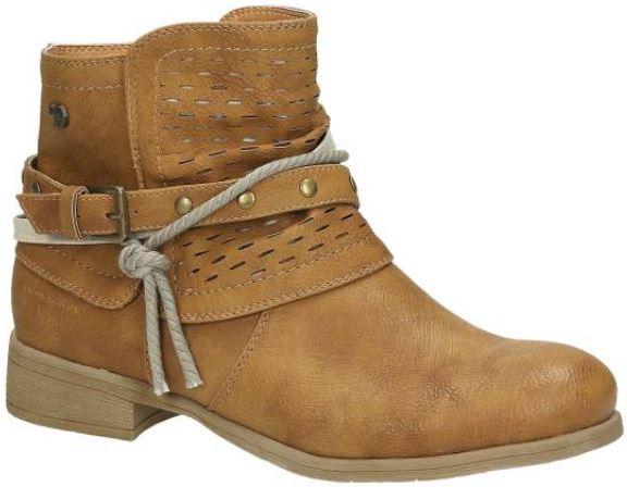 Tom Tailor Boots hellbraun