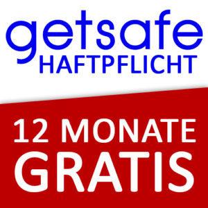Gratis: 12 Monate Haftpflicht-Versicherung von getsafe (täglich kündbar)