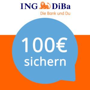 [TOP] 100€ Gutschrift für das kostenlose ING-DiBa Girokonto