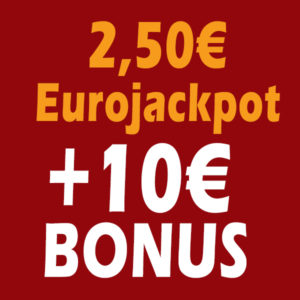 🍀 Tipp24: 10€ Amazon Gutschein bei 2,50€ Einsatz (für Neukunden)