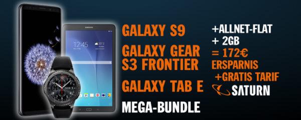 top samsung mega bundle s9 gear s3 frontier tab e