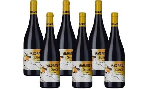 6er Paket Rotwein Madame F Grenache Vieilles Vignes Cotes Catalanes IGP 1