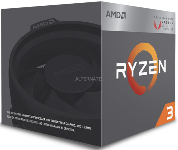 AMD Ryzen 3 2200G Prozessor AM4