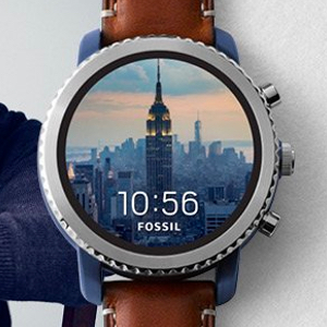 Fossil Q Explorist Smartwatch Edelstahl 3. Generration