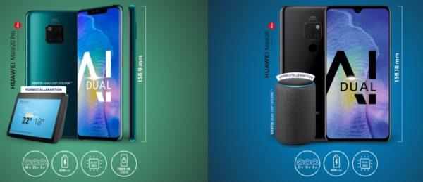 Huawei Mate 2o Pro Aktion