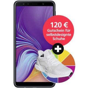 D2: Allnet-Flat mit 5GB LTE + Samsung Galaxy A7 + Galaxy Tab A + 120€ Adidas Gutschein