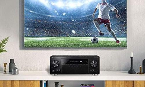 Pioneer VSX 933 7.2 Kanal AV Receiver mit WLAN Bluetooth 4K Dolby Atmo usw.